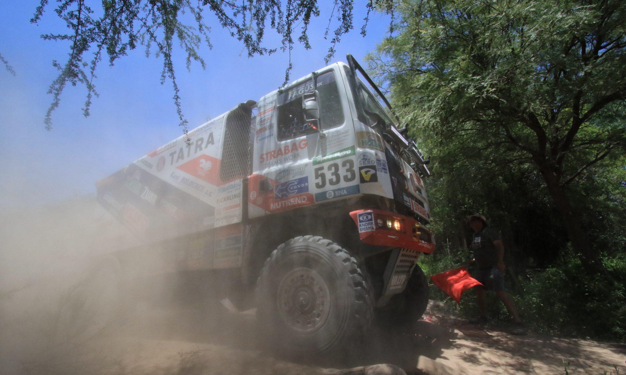 Dakar 2017 präsentiert von Inperio Systems